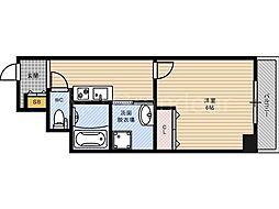 みおつくし都島[4階]の間取り