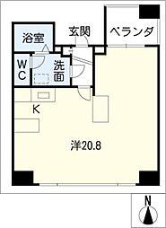 Manoir nakata[2階]の間取り