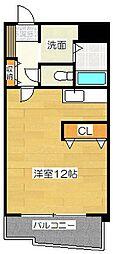グレイスフルマンション東比恵[8階]の間取り