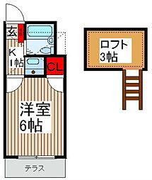 EXCEL14[2階]の間取り