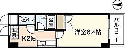 サンパレス横川[2階]の間取り