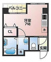 (仮称)船橋市宮本3丁目共同住宅[202号室]の間取り