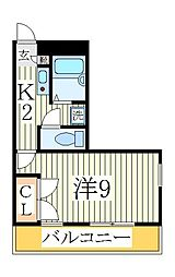 EMBRESS青山[2階]の間取り