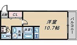 レガリア宮山II[203号室]の間取り