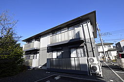 ソレジオタウン西川田C[2階]の外観