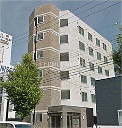 北海道札幌市中央区南八条西17丁目の賃貸マンションの外観