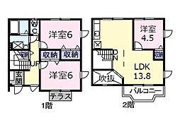 国府津駅 7.7万円