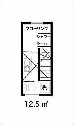 サークルハウス四つ木壱番館[204号室]の間取り