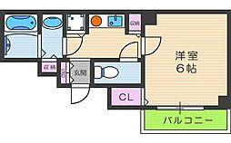 AISAII[6階]の間取り