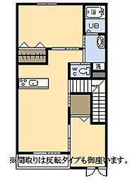 (新築)エムグレイスR[206号室]の間取り