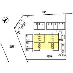 (仮)D-room四十万町[103号室]の外観