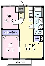 New City IIDA[0205号室]の間取り