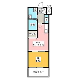 イルマーレ博多[9階]の間取り