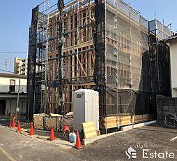愛知県名古屋市守山区茶臼前の賃貸アパートの外観