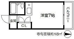 マンション満蔵[4階]の間取り