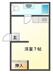 川辺178ビル[3階]の間取り