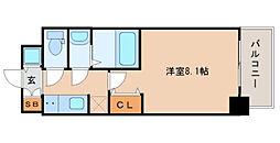 S-RESIDENCE都島[5階]の間取り