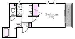 セントラルビュー[2階]の間取り