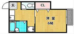 資生ハイツ[2階]の間取り