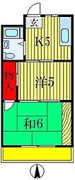永藤マンション[5階]の間取り
