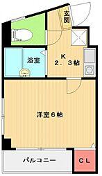 栄興ビル[201号室号室]の間取り