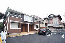 埼玉県越谷市大字大林の賃貸アパートの外観