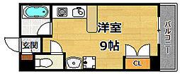 ロイヤルハイツ夙川[1階]の間取り