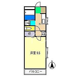シェモアエマール[3階]の間取り