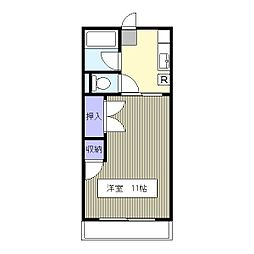 埼玉県さいたま市南区根岸4の賃貸アパートの間取り