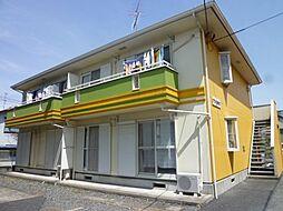 埼玉県さいたま市岩槻区西原の賃貸アパートの外観