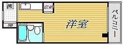 メゾンマークワン[4階]の間取り