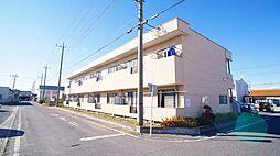 埼玉県行田市長野3丁目の賃貸アパートの外観