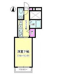 コーラル K[2階]の間取り