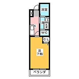 IL BIANCO[2階]の間取り