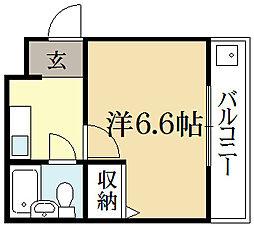 サニーライフゴトウ[2階]の間取り