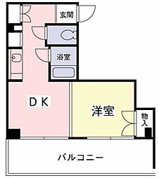 東京都世田谷区南烏山4丁目の賃貸マンションの間取り