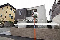 岡山県岡山市北区津島南1の賃貸マンションの外観