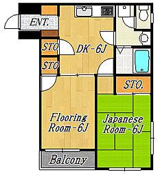 シティハイツA[2階]の間取り