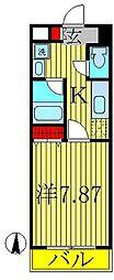 オアゾ桜台[5階]の間取り