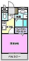 Bright one[3階]の間取り