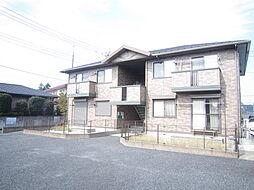 埼玉県入間郡越生町上野東3丁目の賃貸アパートの外観