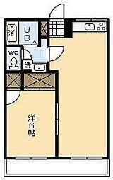 キャロルハウス[105号室]の間取り