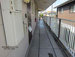 エステート・リバー C・D棟[1階]の外観