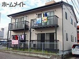 岐阜県美濃加茂市古井町下古井の賃貸アパートの外観