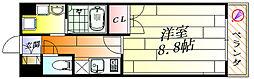 ルーセントパークショア[3階]の間取り