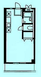 エクセレント久地[3階]の間取り