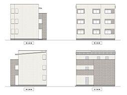 愛知県名古屋市中川区中島新町1丁目の賃貸アパートの外観