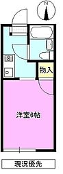 長野県長野市大字西長野の賃貸アパートの間取り