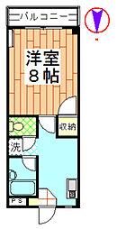 ハイツ菊地[303号室]の間取り
