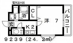 七神国府ビル[306号室号室]の間取り